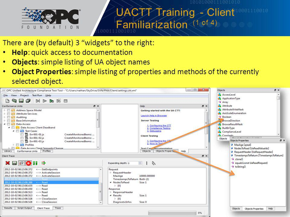 UACTT Training - Client Familiarization (1 of 4)