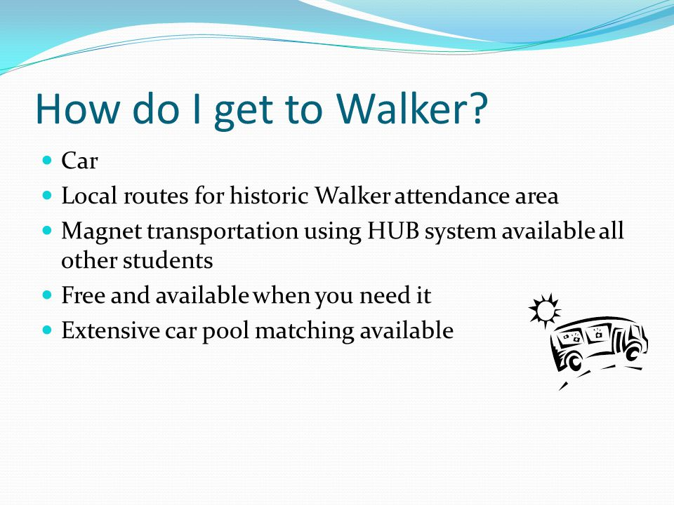 How do I get to Walker Car