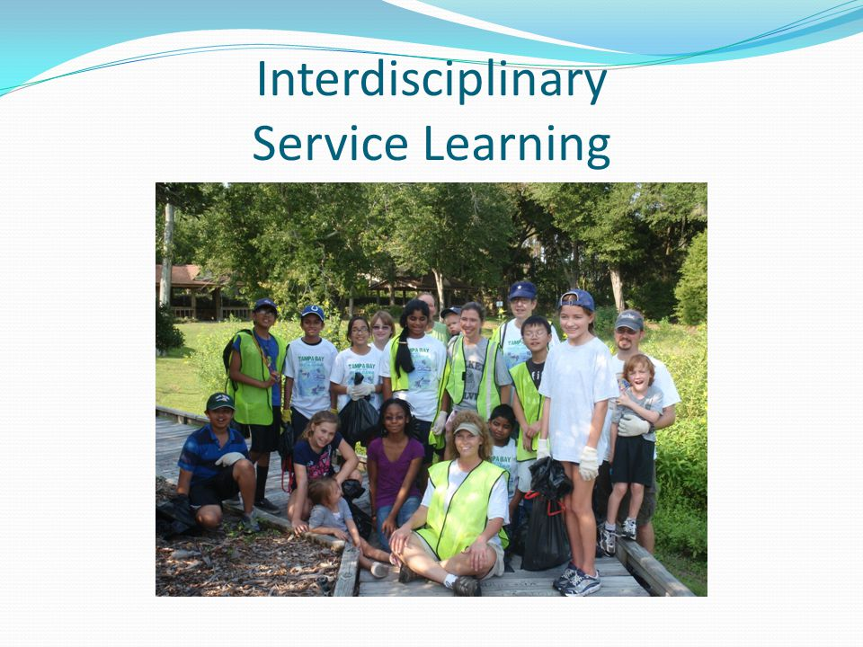 Interdisciplinary Service Learning