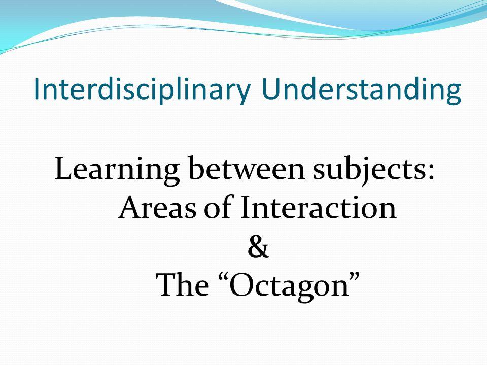 Interdisciplinary Understanding