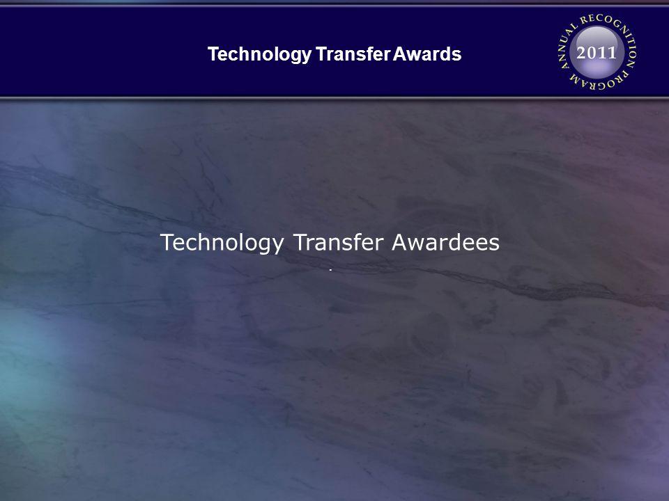 Technology Transfer Awards