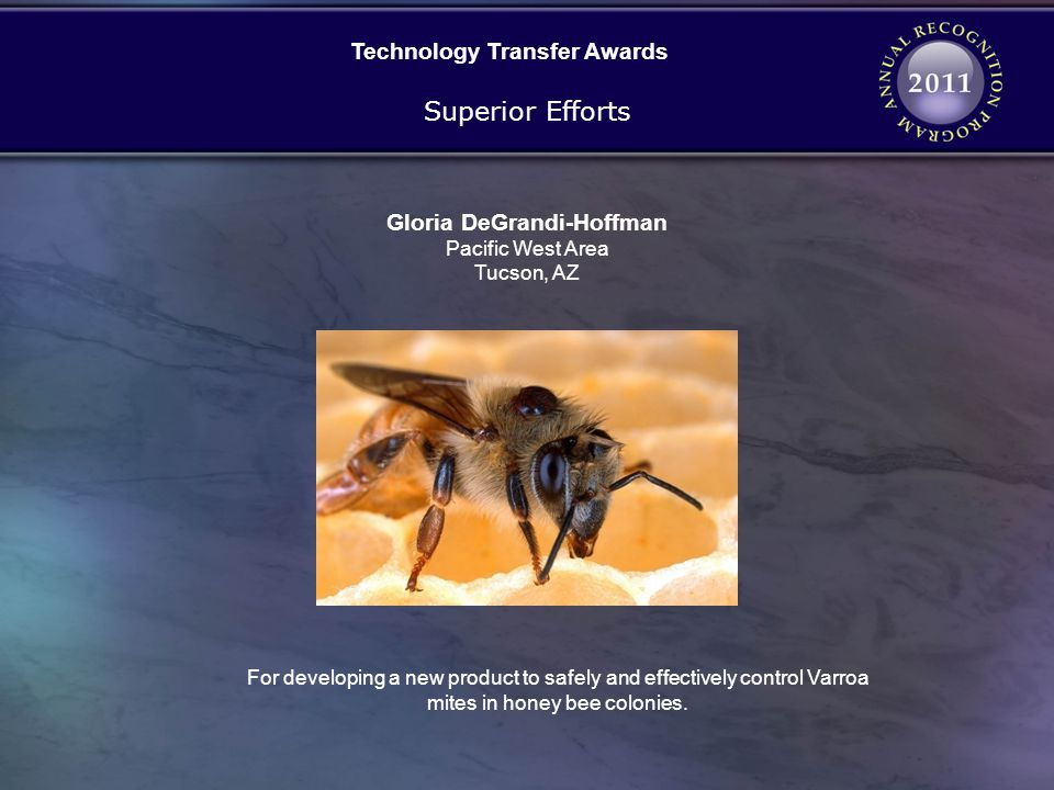 Technology Transfer Awards