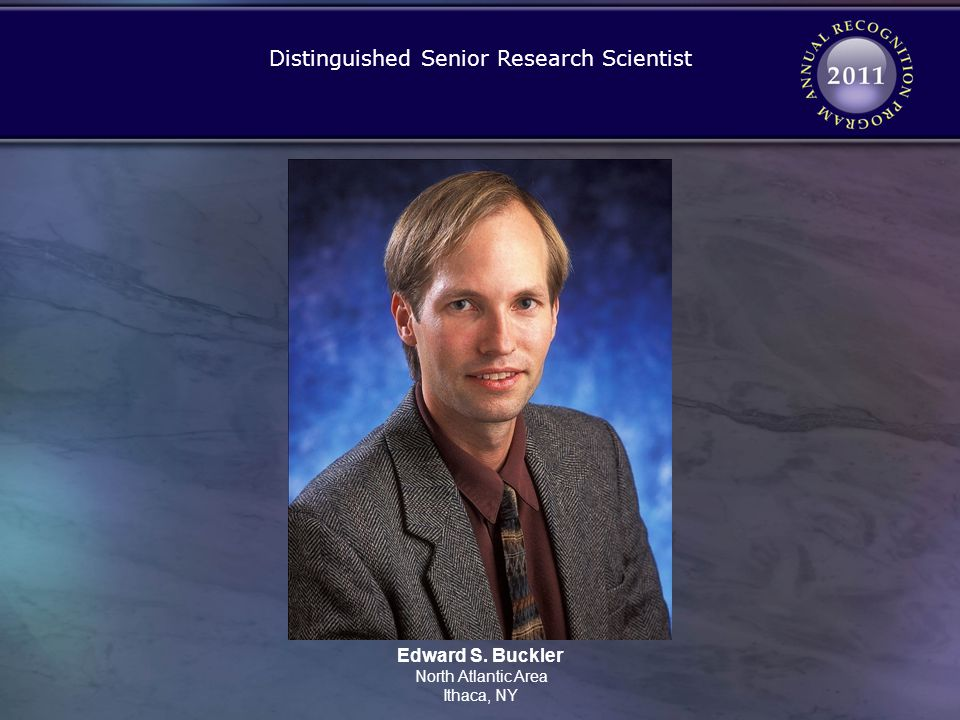 Distinguished Senior Research Scientist