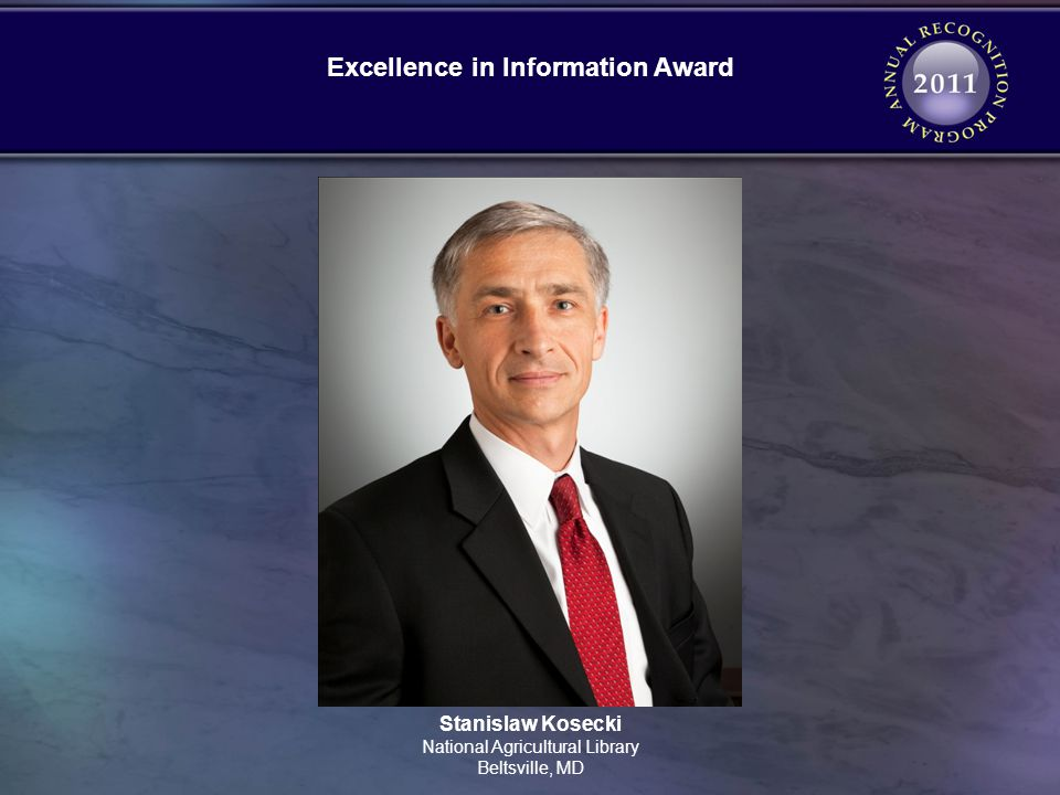 Excellence in Information Award