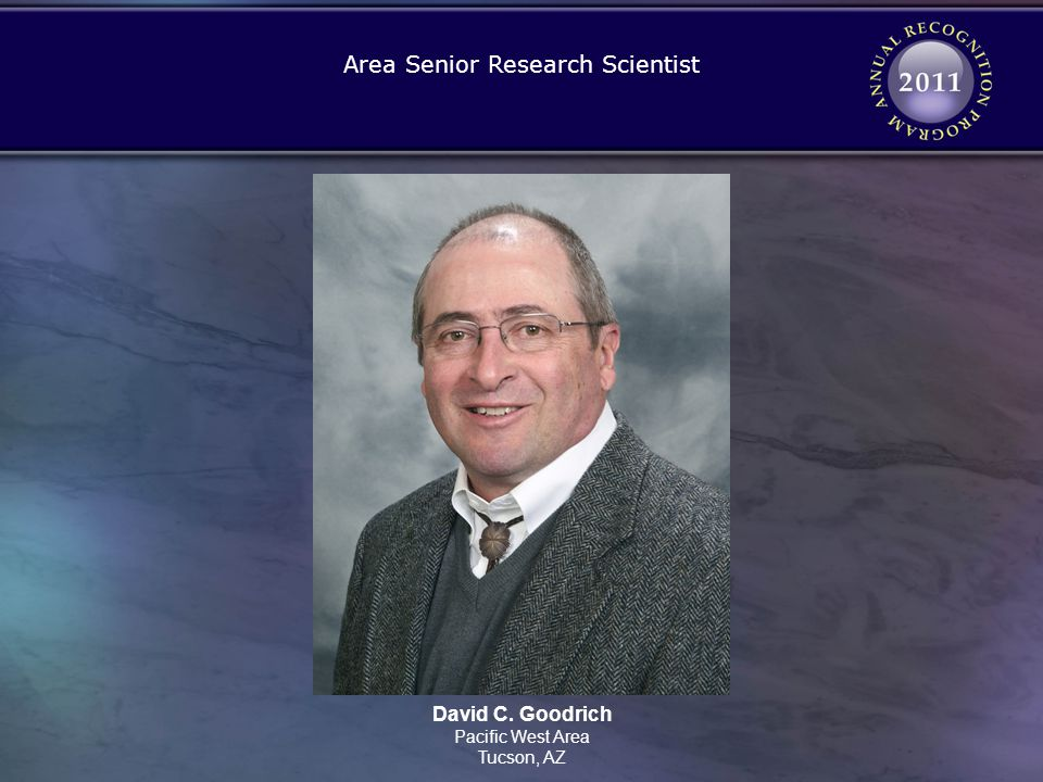 Area Senior Research Scientist