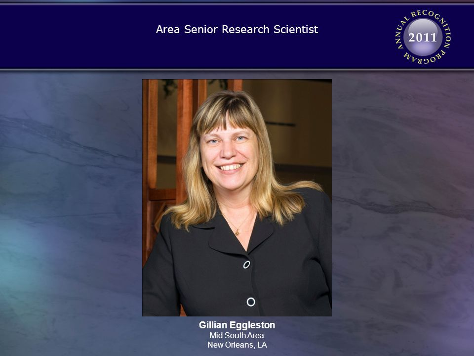 Area Senior Research Scientist