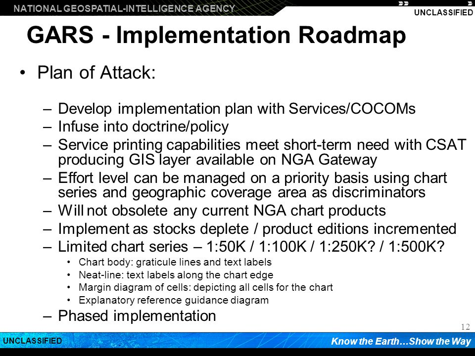 GARS - Implementation Roadmap