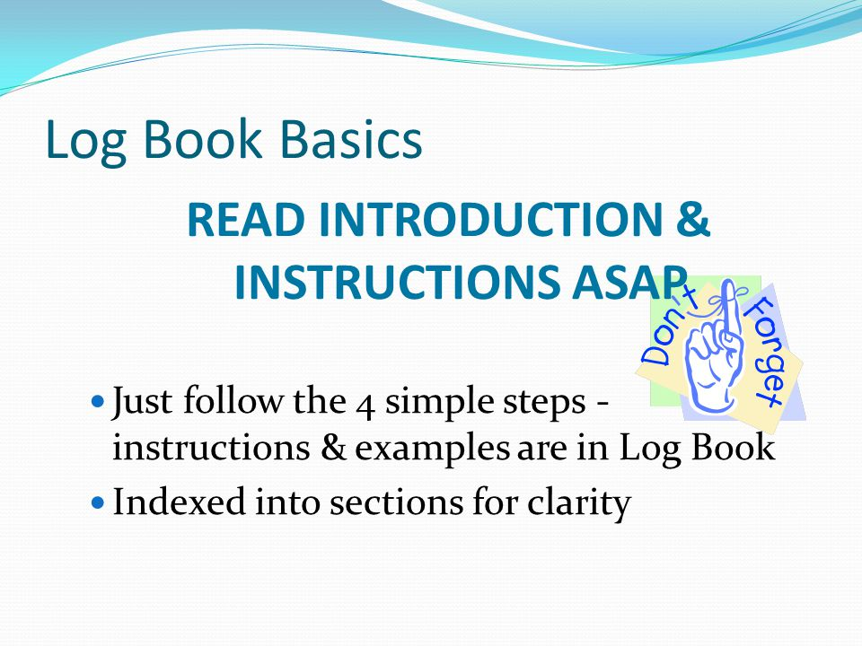 READ INTRODUCTION & INSTRUCTIONS ASAP