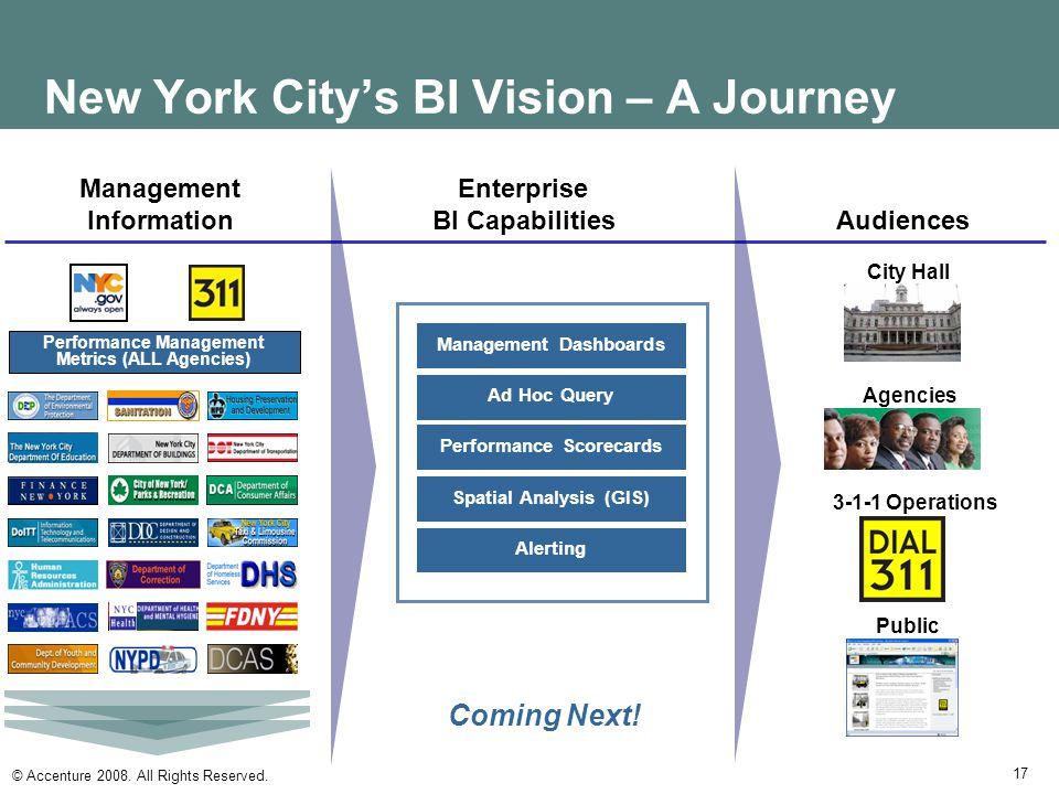New York City's BI Vision – A Journey
