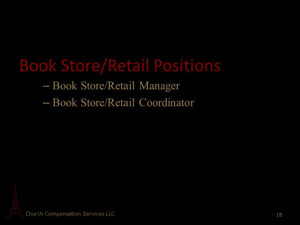 Book Store/Retail Positions