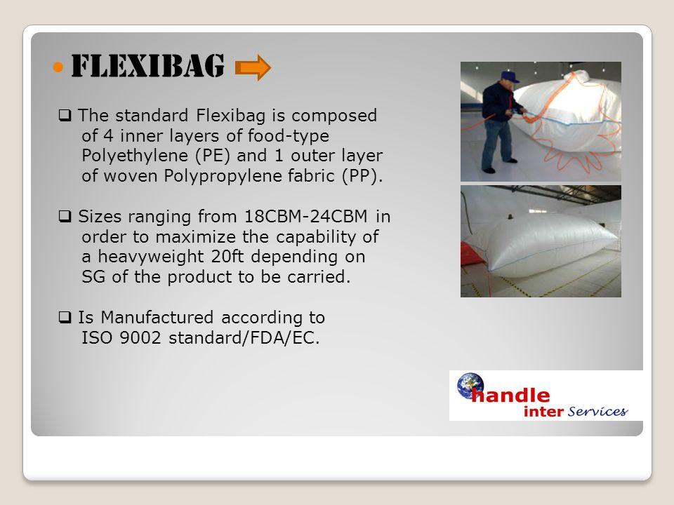FLEXIBAG The standard Flexibag is composed