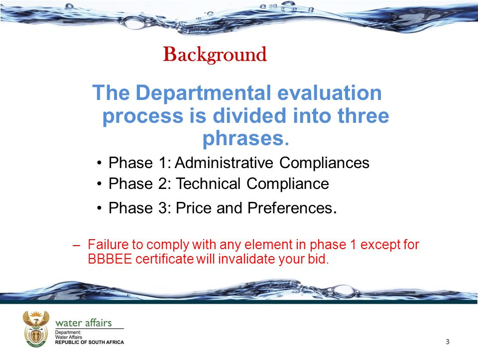 The Departmental evaluation process is divided into three phrases.