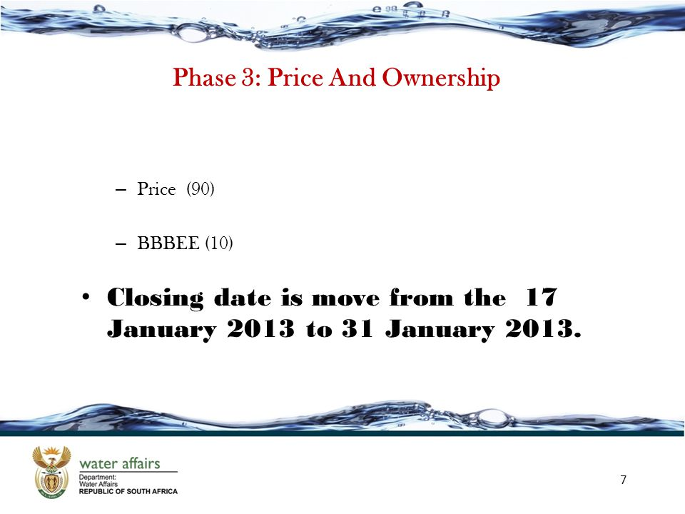 Phase 3: Price And Ownership