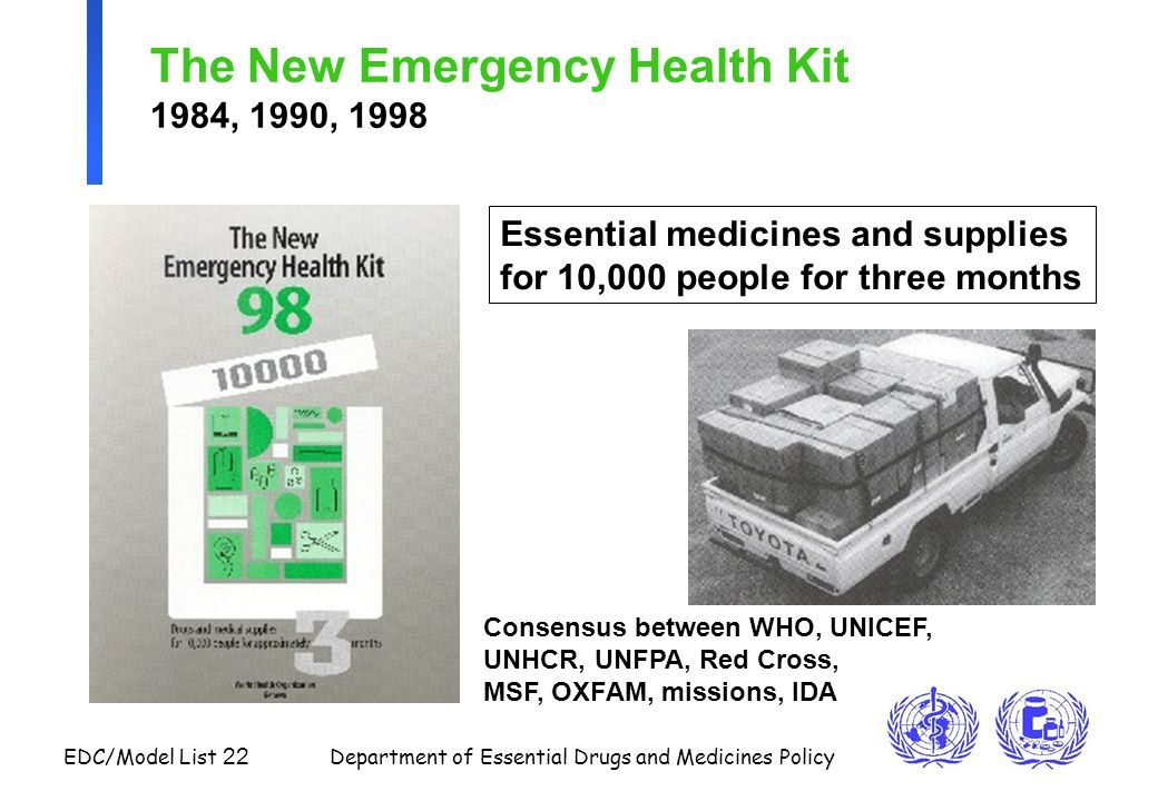 The New Emergency Health Kit 1984, 1990, 1998