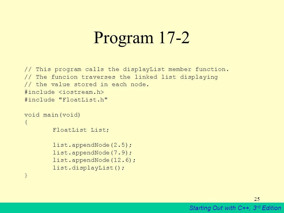 Program 17-2
