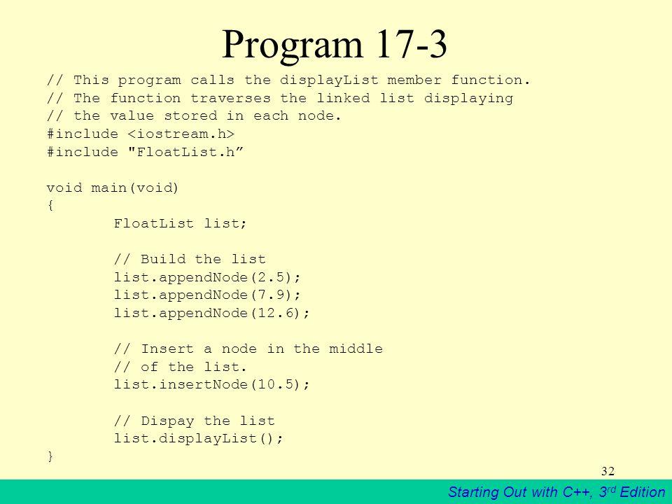 Program 17-3