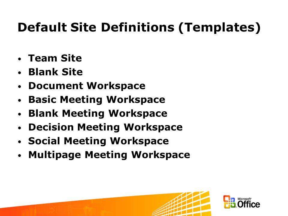 Create Site: Step 1 Provide Title and Description