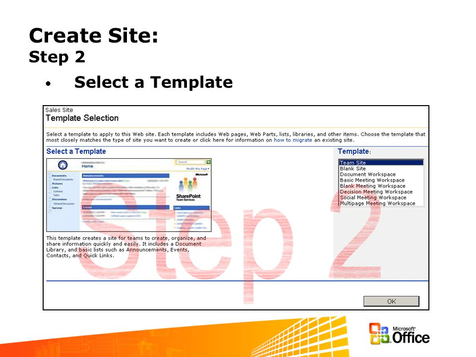 How to create a Site Template
