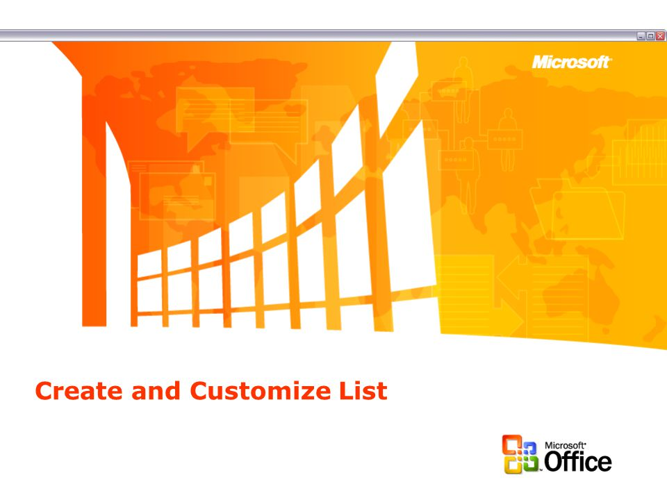 About List Templates Windows SharePoint Services includes many list templates by default.