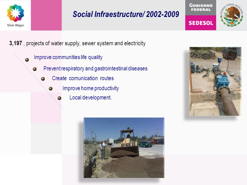Social Infraestructure/ 2002-2009