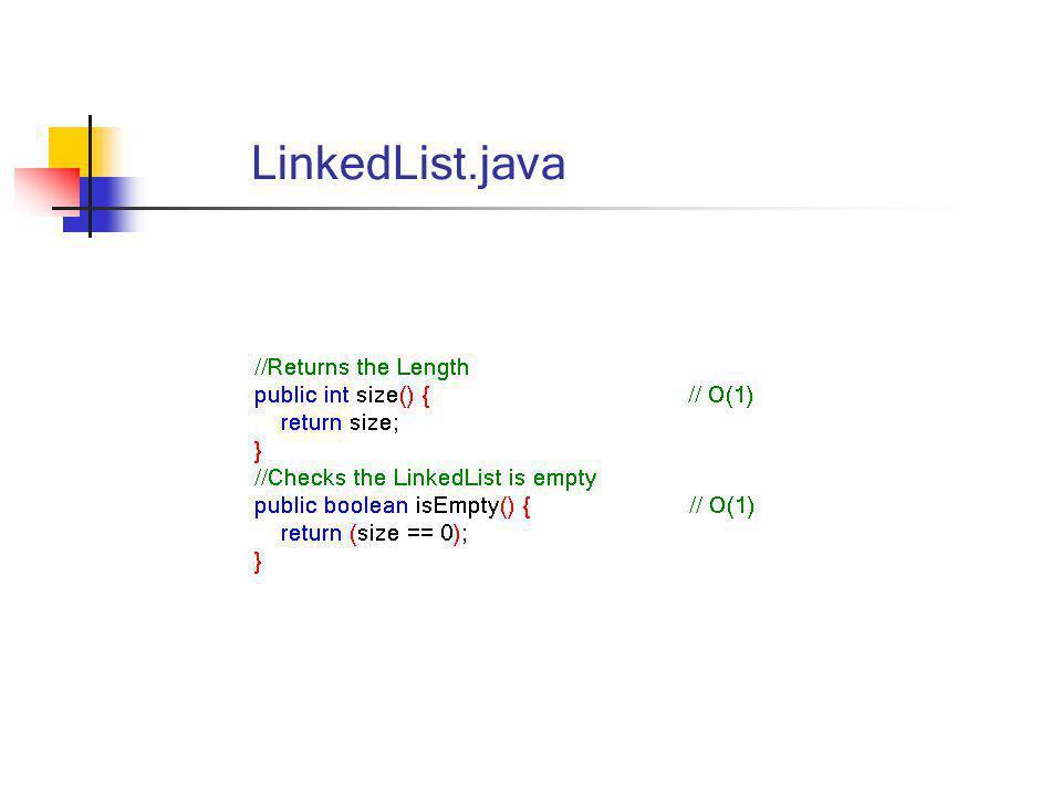 LinkedList.java