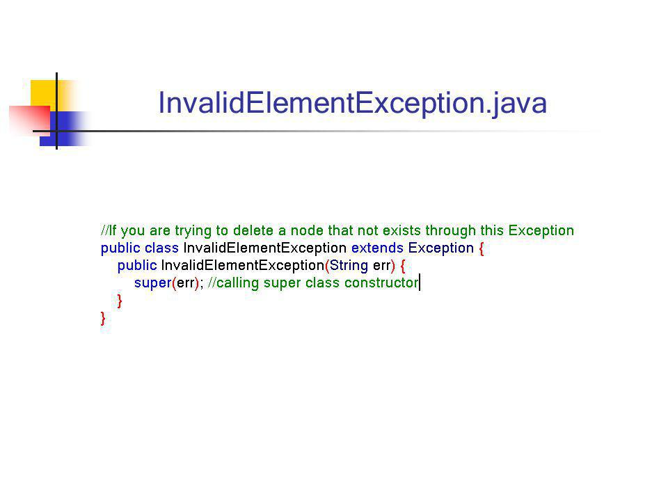 InvalidElementException.java