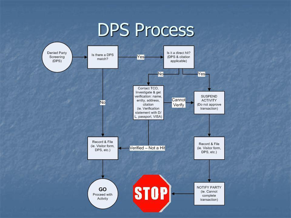 DPS Process