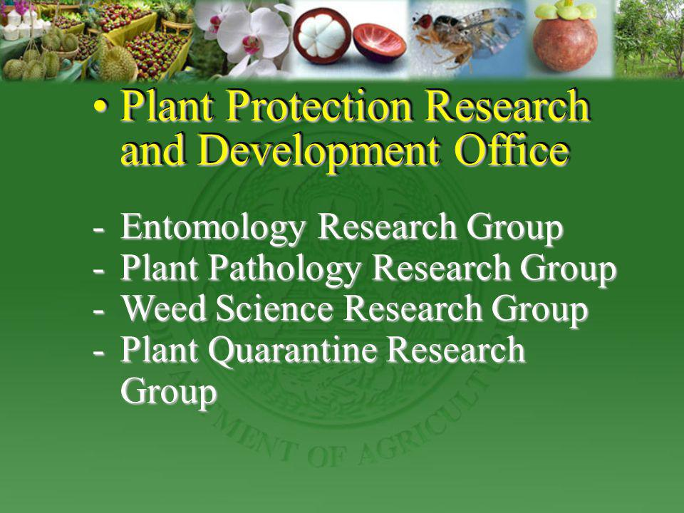 Plant Protection Research and Development Office