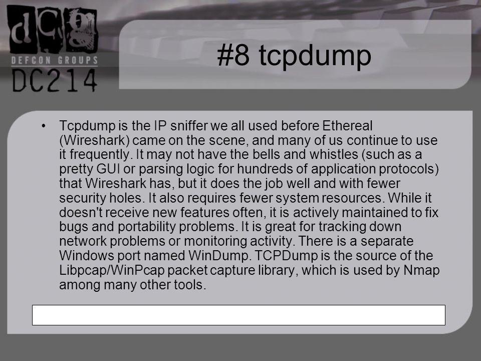 #8 tcpdump