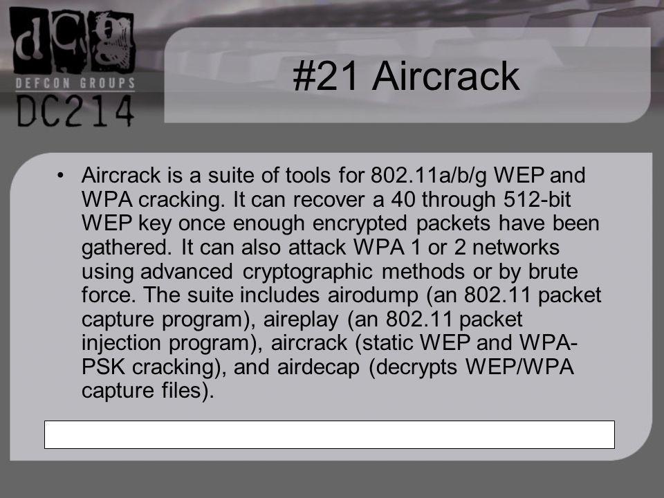 #21 Aircrack