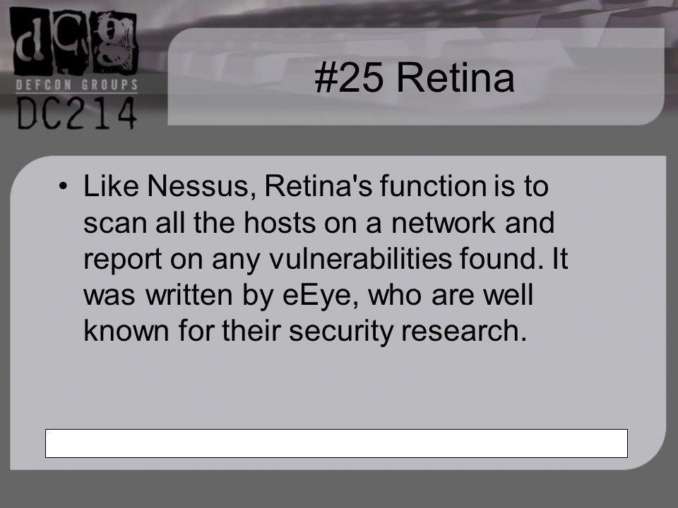#25 Retina
