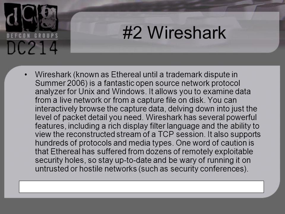 #2 Wireshark