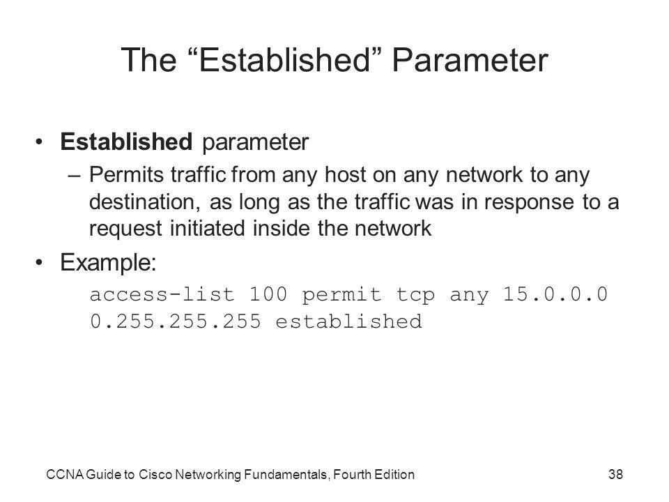The Established Parameter