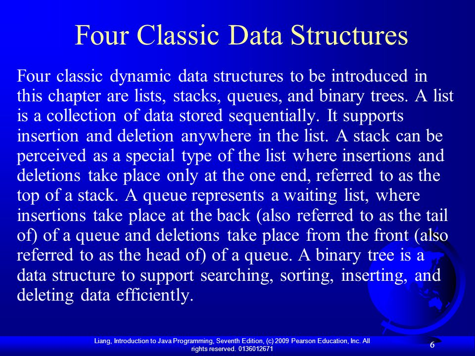 Four Classic Data Structures
