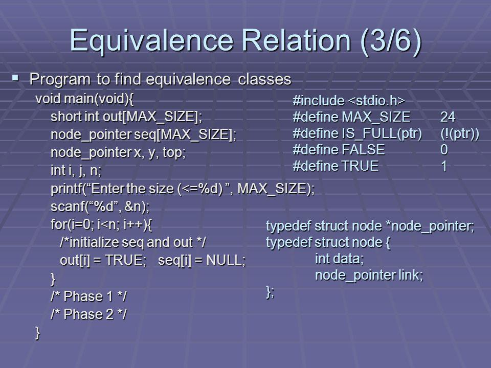 Equivalence Relation (3/6)
