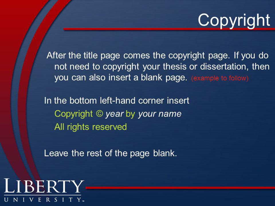 register copyright dissertation Should i copyright my dissertation 1 your dissertation proquest asks if i wish for them to register the copyright in my dissertation what does that mean.