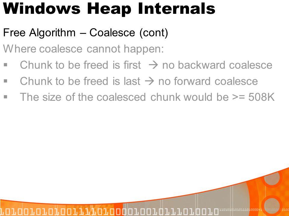 Windows Heap Internals