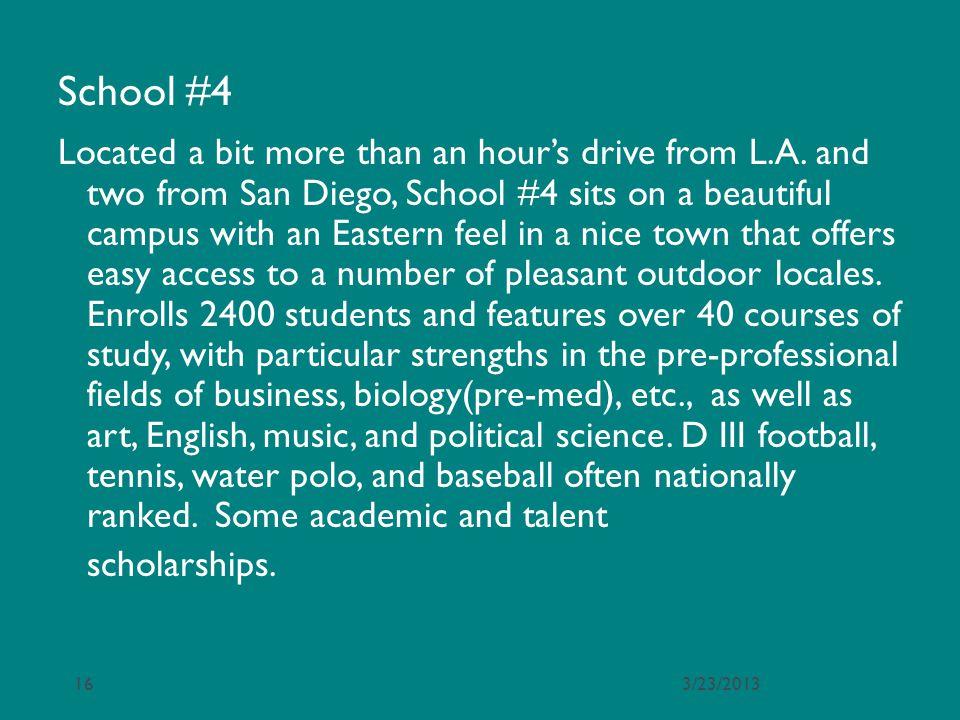 School #4