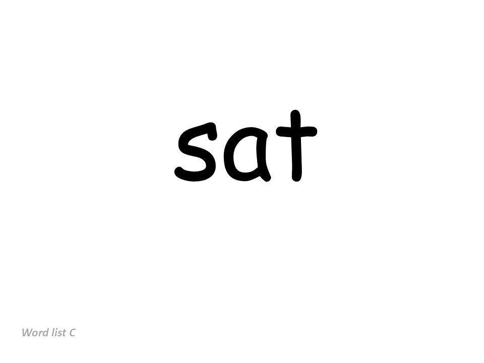 sat Word list C
