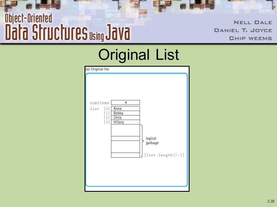 Original List