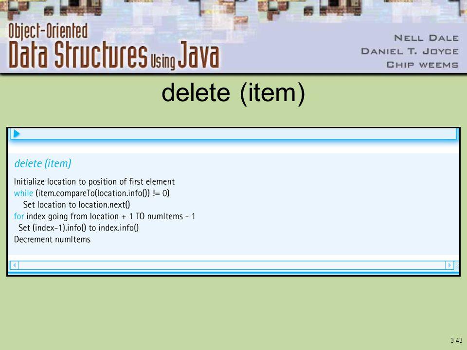 delete (item)