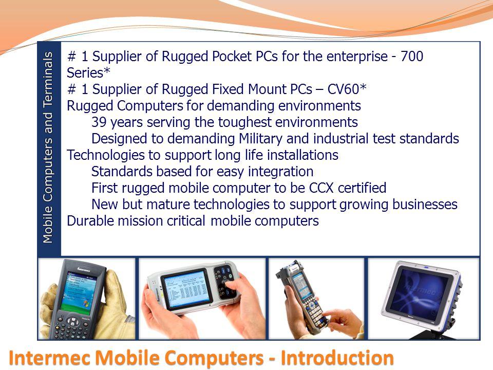 Intermec Mobile Computers - Introduction