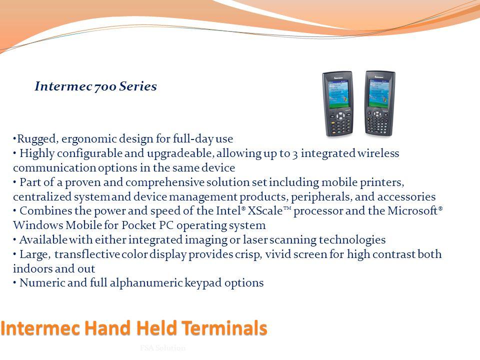 Intermec Hand Held Terminals