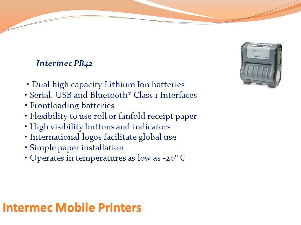 Intermec Mobile Printers