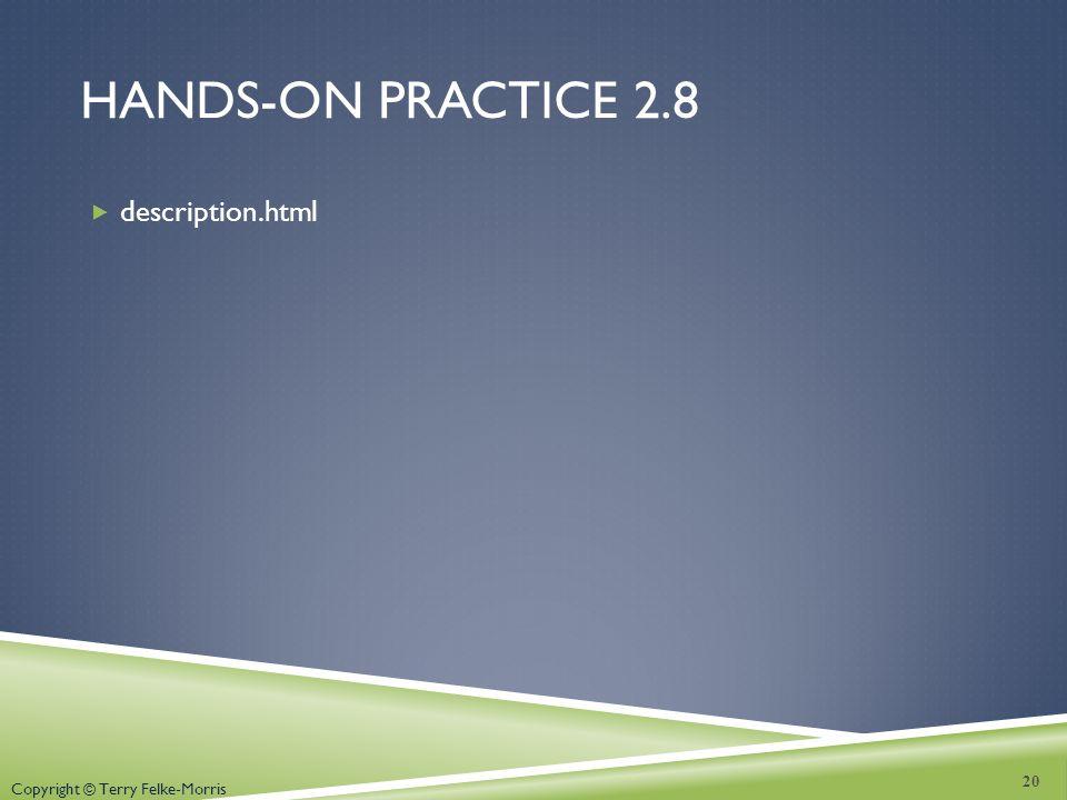 Hands-on practice 2.8 description.html