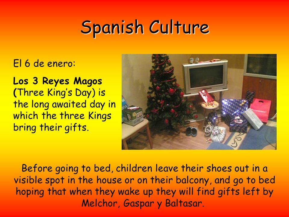Spanish Culture El 6 de enero:
