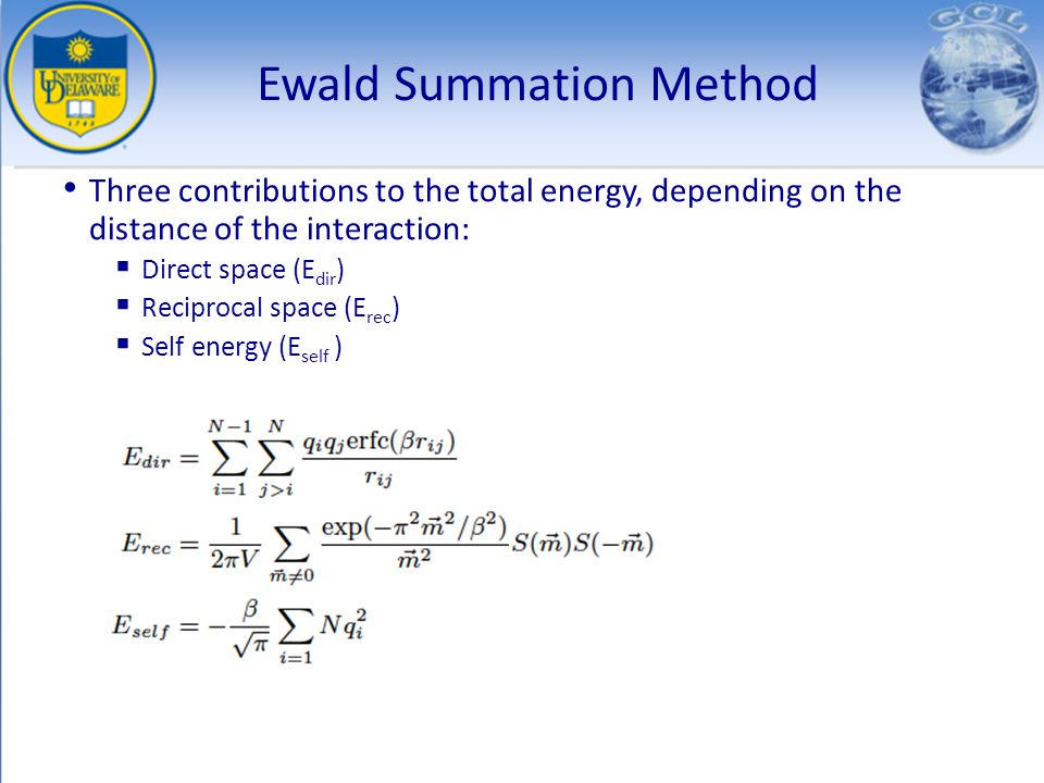 Ewald Summation Method