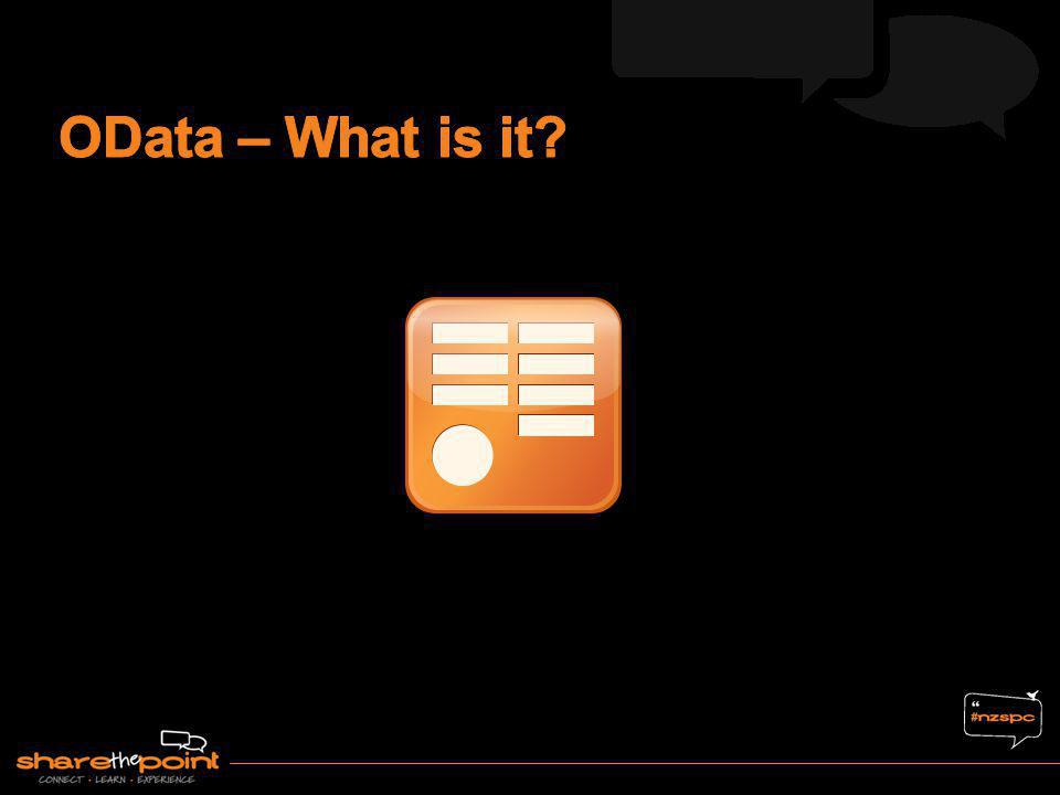 OData – What is it