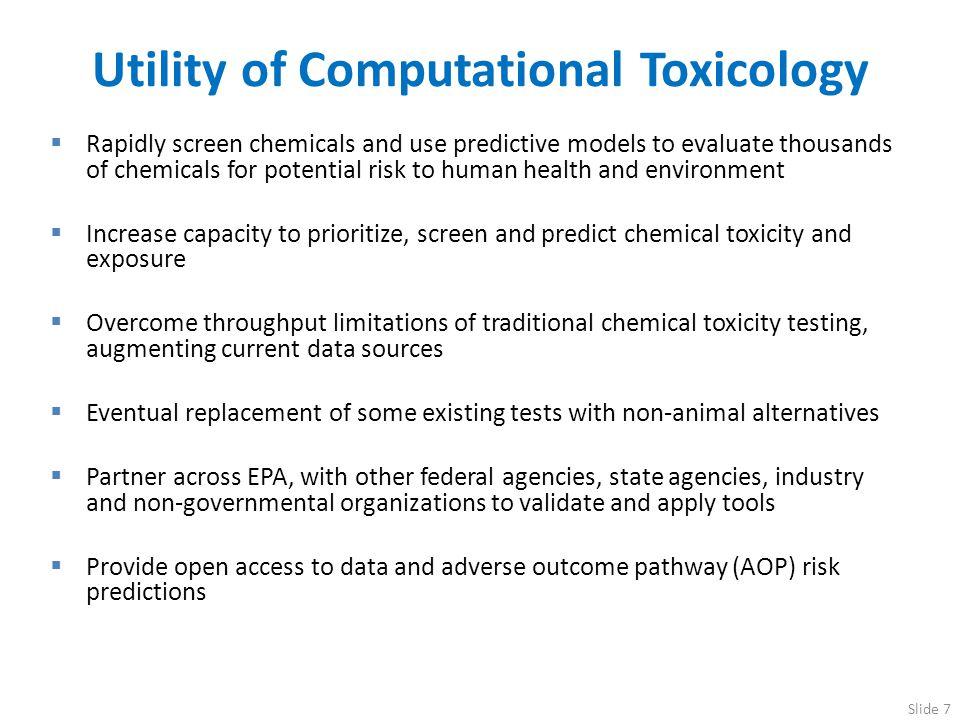 Utility of Computational Toxicology