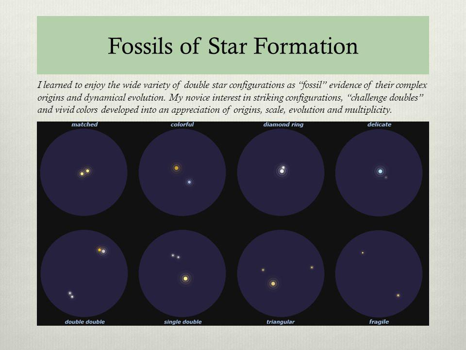Fossils of Star Formation